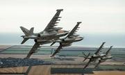 'Xe tăng bay' Nga sóng đôi phóng rocket trả đũa phiến quân Syria