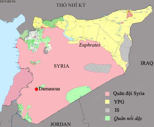 Tham vọng lập đội quân cát cứ có thể khiến Mỹ sa lầy ở Syria