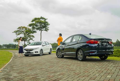 City tiếp tục là mẫu xe bán chạy nhất của HVN.