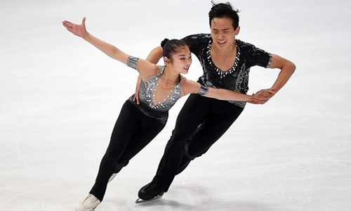 Bộ đôi trượt băng nghệ thuật Triều Tiên cử tới Hàn Quốc tranh tài