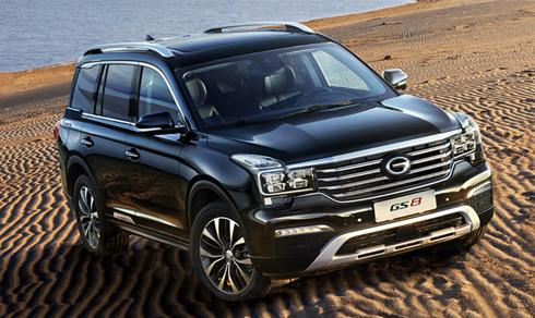 Chiếc SUV GS8 với 7 chỗ ngồi sẽ được bán tại thị trường Mỹ.