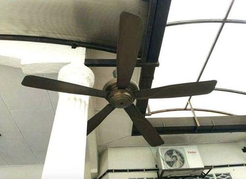 Cách lắp quạt trần tiết kiệm điện.