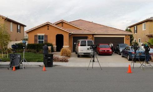 Ngôi nhà được vợ chồng Turpin đăng ký làm trường tư. Ảnh: Reuters.