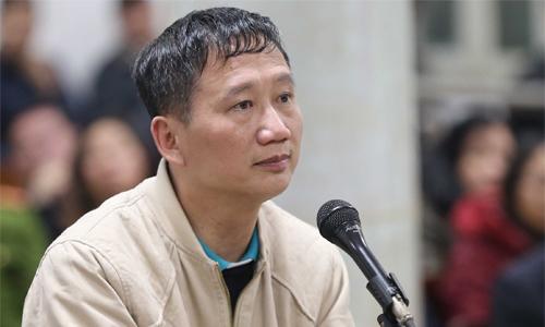 Bị cáo Trịnh Xuân Thanh xin được ra nước ngoài chăm sóc con