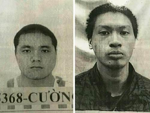 Cường (trái) và Thành. Ảnh: C.A