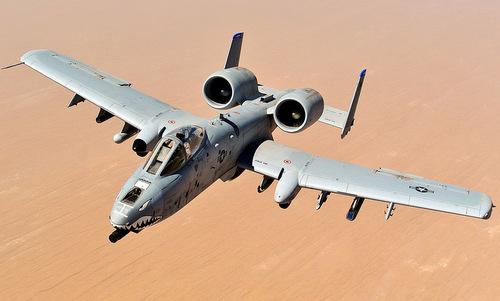 Cường kích A-10 của không quân Mỹ. Ảnh: USAF.