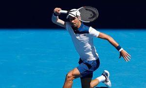 Novak Djokovic 3-1 Gael Monfils
