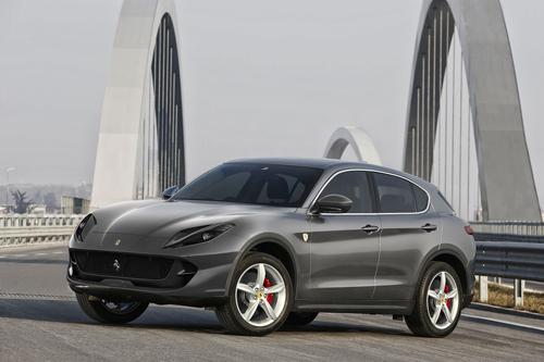 Thiết kế giả lập SUV Ferrari. Ảnh: Autoevolution.