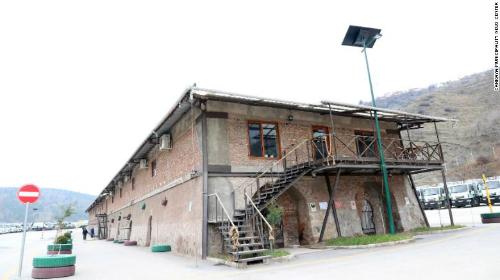 Thư viện nằm trong xưởng gạch cũ bỏ hoang. Ảnh:Cankaya Municipality News Center