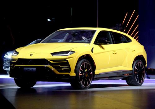 Lamborghini Urus tại sự kiện ra mắt tại Italy, tháng 12/2017. Ảnh: Đức Huy.
