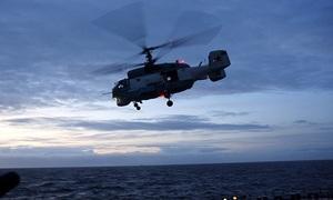 Trực thăng Nga diễn tập săn ngầm trên Biển Barents