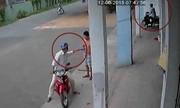 Hai tên trộm dàn cảnh, bẻ khóa SH trong 5 giây