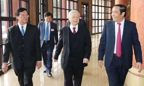 Ban Tổ chức Trung ương lấy ý kiến về dự thảo 'kiểm soát quyền lực'