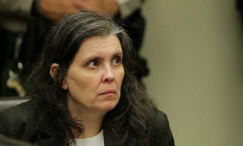 Louise Anna Turpin trong phiên sơ thẩm ngày 18/1. Ảnh: AFP.