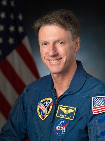 Cựu phi hành giaMichael Foale. Ảnh: NASA.