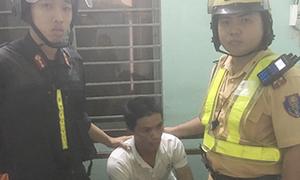 CSGT TP HCM và đồng nghiệp lần theo định vị, bắt kẻ trộm