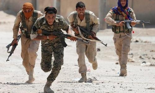 Các chiến binh YPG tại Syria. Ảnh: Almasdar News.