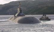 Nga loại biên hai tàu ngầm hạt nhân lớn nhất thế giới
