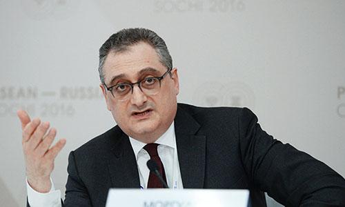 Thứ trưởng Ngoại giao Nga Morgulov. Ảnh: Sputnik.