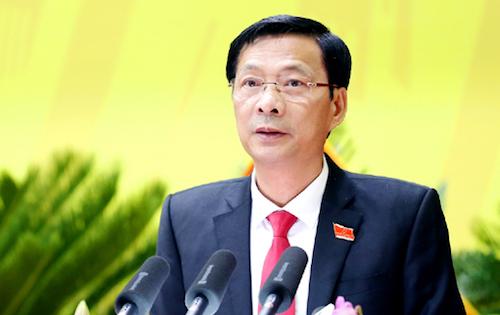 Bí thư Quảng Ninh Nguyễn Văn Đọc đề nghị làm rõ ai chạy chức chạy quyền vàchạy ai. Ảnh: PV
