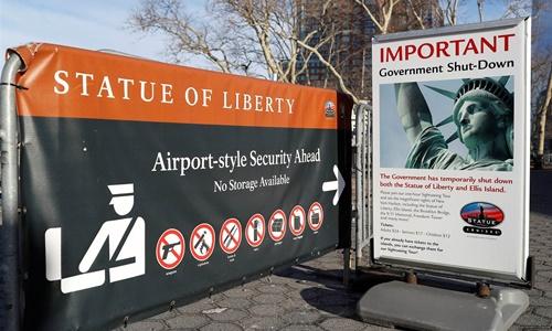 Hãng thông tấn Trung Quốc chê chính phủ Mỹ đóng cửa là 'sai lầm kinh niên'