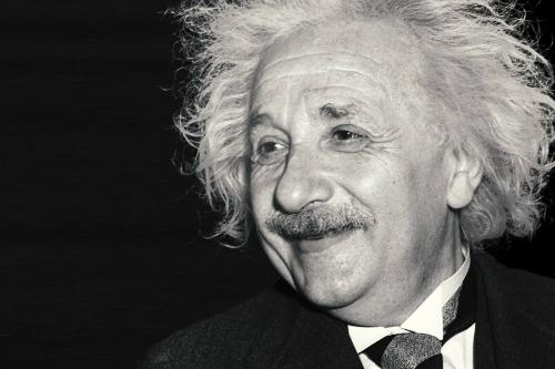 Chân dung Albert Einstein. Ảnh: Internet