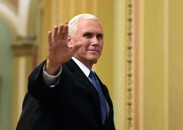 Phó tổng thống Mỹ Mike Pence. Ảnh: AP.