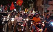 Người hâm mộ 'một đêm không ngủ' sau chiến thắng của U23 Việt Nam