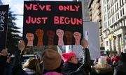 Hàng trăm nghìn người Mỹ biểu tình chống Trump