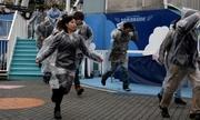 Tokyo lần đầu diễn tập sơ tán sau Thế Chiến II