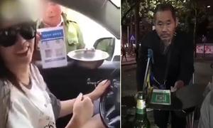 Ăn mày Trung Quốc dùng ví điện tử để xin tiền