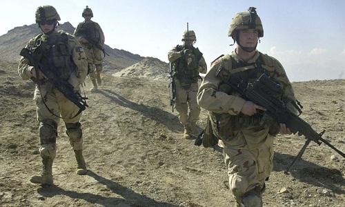 Binh sĩ Mỹ tuần tra tại Afghanistan. Ảnh: AFP.