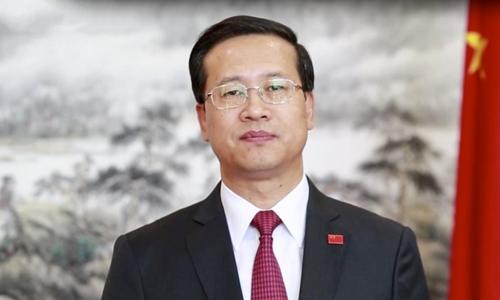 Nhà ngoại giao Trung Quốc Mã Triêu Húc. Ảnh: SCMP.