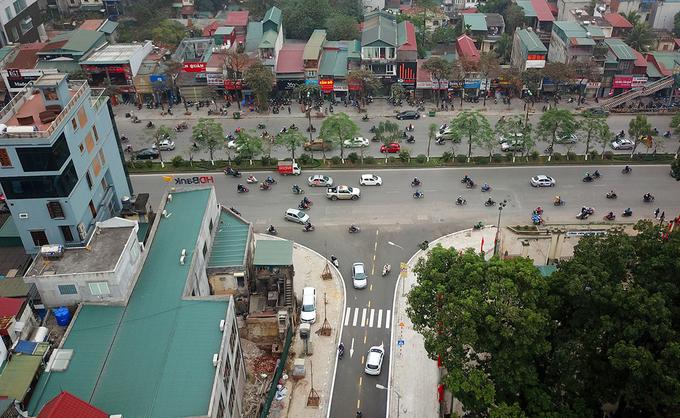 Tuyến phố 600 m ở Hà Nội thông xe sau gần 20 năm 'phê duyệt treo'