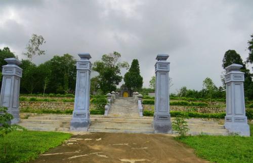 Lăng chúa Nguyễn này có tên là Trường Thanh, nằm ở thôn Kim Ngọc, xã Hương Thọ, thị xã Hương Trà, tỉnh Thừa Thiên Huế ngày nay. Ảnh: Võ Thạnh