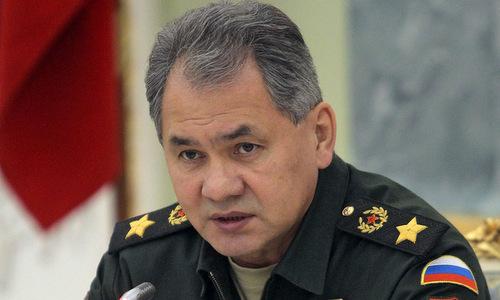 Bộ trưởng Quốc Phòng Nga Sergei Shoigu. Ảnh: Tass.