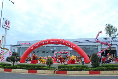 Đại lý Gia Lai khai trương ngày 18/1, có diện tích lớn thứ hai trên cả nước.