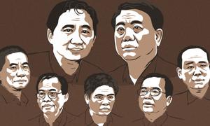 Hình phạt của 22 bị cáo trong vụ án 'ông Đinh La Thăng'