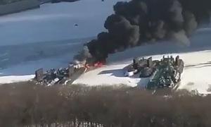 Nga cho tàu ngầm Kilo bốc cháy trong diễn tập