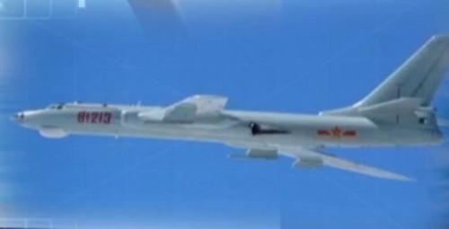 Máy bay ném bom H-6G của Trung Quốc. Ảnh: CCTV.