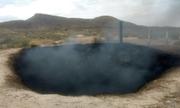 Hố cháy đen sâu 8 m làm dấy lên giả thuyết về UFO hạ cánh