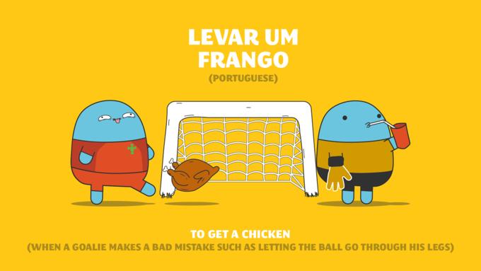Thành ngữ các nước về bóng đá