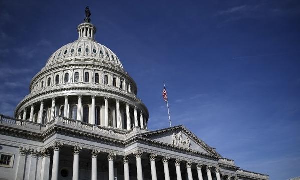 Tòa nhà quốc hội Mỹ. Ảnh: AFP.