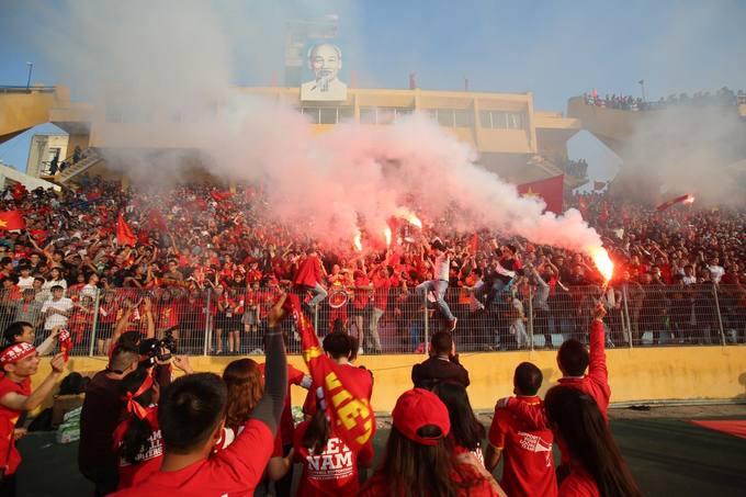4.000 người Hà Nội đến sân Hàng Đẫy cổ vũ U23