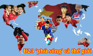 Ảnh chế U23 Việt Nam 'phủ sóng' thế giới sau khi thắng U23 Qatar