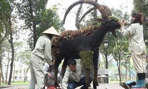 Hà Nội thi công 12 con giáp khổng lồ