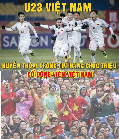 Niềm hạnh phúc vỡ òa khi Việt Nam vào chung kết U23 châu Á - 7