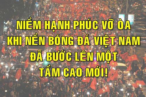 Niềm hạnh phúc vỡ òa khi Việt Nam vào chung kết U23 châu Á - 6