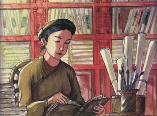 Nữ sĩ thơ Nôm nào là thầy của các công chúa nhà Nguyễn