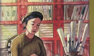 Nữ sĩ thơ Nôm nào dạy học cho các công chúa nhà Nguyễn?